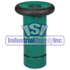 "Fire Hose Nozzle   3/4"" Garden Hose Thread Ght   Polycarbonate   Green"