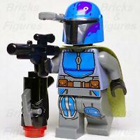 New Star Wars LEGO® Mandalorian Male Tribe Warrior Blue Minifigure 75267 Genuine