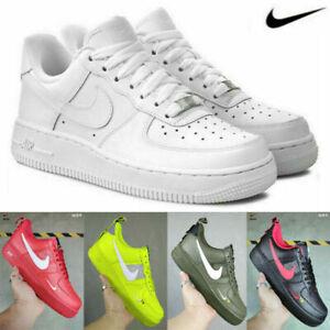 NIKE Air Force 1 Low Top Sport Scarpe da corsa  Uomo Donna Sneakers EU 36-45