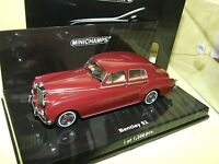 BENTLEY S2 STANDARD SADLOON 1960 Bordeau MINICHAMPS 1:43