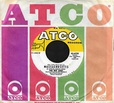 """THE BEE GEES """"MASSACHUSETTS/Sir Geoffrey Saved The..."""" ATCO 45-6532 (1967) 45rpm"""