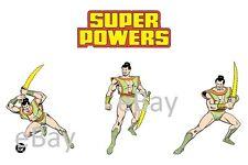 1988 Super Powers SAMURAI Model Art : Justice League