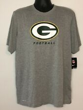 NWT NIKE DRI-FIT NFL ON-FIELD LARGE T-SHIRT POLYESTER GREEN BAY PACKERS