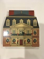1990 Cat's Meow Village Colonial Virginia Christmas - Shirley Plantation 3 of 21
