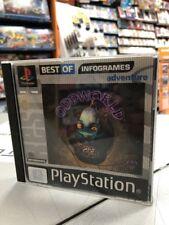 Oddworld Abe's Exoddus (Best of Infogrames) PS1 PSX USATO GARANTITO