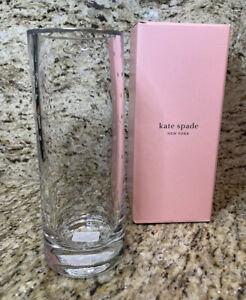 """Kate Spade - Larabee Dot Crystal 10"""" Vase - 6248165"""