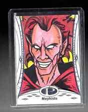 2014 Marvel Premier Mephisto sketch card