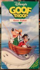 Goof Troop - Goin' Fishin' VHS Disney