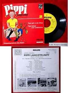 EP Pippi Langstrumpf 2 (Philips 760 059 QV) D 1966