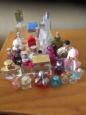 Lot of 27 Empty Designers Perfume Bottles