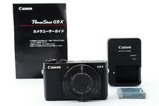 Canon PowerShot G9X 20.2 MP Digital Camera from Japan [Excellent++]