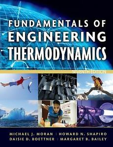 Fundamentals of Engineering Thermodynamics, 7th Ed by Moran, Student Value Ed