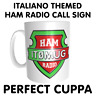 Italy Italiano Themed Ham Amateur Radio Call Sign CB Handle or Name