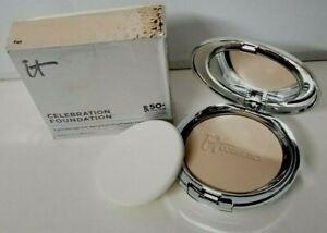 it Cosmetics CELEBRATION FOUNDATION SPF 50 + Anti-Aging Foundation 0.30 oz FAIR