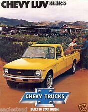 Truck Brochure - Chevrolet - Chevy - Luv - Series 9 - Pickup - c1979  (TB662)