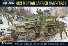 Warlord Games Perno acción BNIB M21 Mortar Carrier Half-track wgb-ai-507