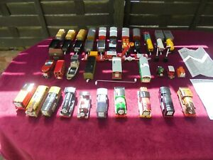 Large Collection of Motorised Fisher Price Thomas the Tank Engine's & Carriages