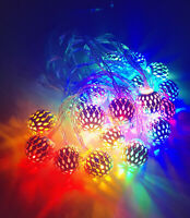 3M 20 LED RGB Small Ball LED String Christmas Wedding Party Fairy Lights