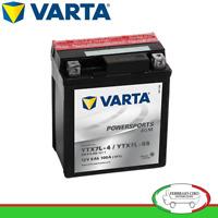 BATTERIA VARTA 6V 6AH POWERSPORTS 006012003 6N6-3B-1 YAMAHA DT 125 E 1G0