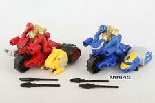 MMPR Power Rangers Megaforce Blue and Red Ranger Zord Builder Vehicle