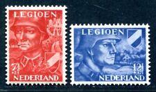 NIEDERLANDE 1942 402-403 ** POSTFRISCH LEGIONEN STAHLHELM (F3280