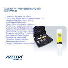 Azzota WPCM-20 Pen Type Waterproof conductivity Meter, Range: 0.00~20.00mS/cm