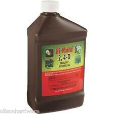 Hi-Yield 32 Oz 2, 4-D Selective Lawn Pasture Broadleaf Weed Killer 21415