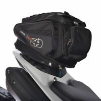 Oxford Motorcycle Bike Tail Pack  Lifetime Luggage Expandable OL335 30-L Black