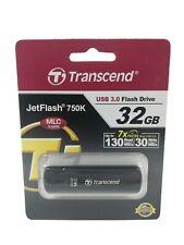 32GB Transcend Ultra-fast Flash Drive USB 3.0 ~ Up to 7x Faster than USB 2.0