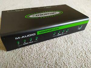 M-Audio midisport 4x4 anniversary. Excellent condition.