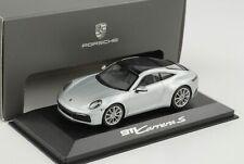 Porsche 911 992 Carrera S doliminit silber metallic 1:43 Minichamps WAP Dealer