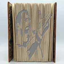 Book Folding Pattern - Mark Measure Cut & Fold - Freddie Mercury