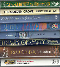 F1stEdHBDJ lot Tamora Pierce, Gillian Bradshaw, Erin Hunter, Reiman, Kress, King
