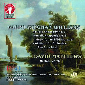 Ralph Vaughan Williams: Norfolk Rhapsodies Nos. 1 & 2/The Bluebird/ etc.