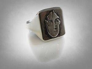 John Winston Ring Solid Sterling Silver 925