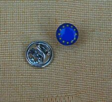 Europa Flaggen Pin EU rund  Anstecker Anstecknadel  Button Badge  NEU