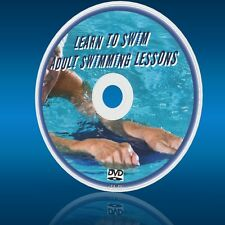 ADULT BEGINNERS SWIMMING LESSONS NEW DVD LEARN TO SWIM & BE SAFE IN WATER/POOL