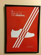 Adidas Arsenal A4 260GSM Framed Poster Artwork Casuals