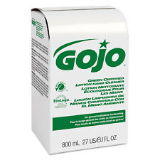 GOJO Green Certified Lotion Hand Cleaner 800mL Bag-in-Box Refill Unscented