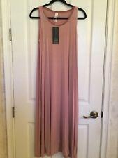 MarlaWynne Velvet Balloon Dress Burgundy Size M BNWT NEW