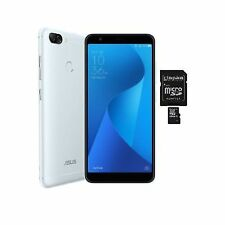 ASUS ZenFone Max Plus (M1) ZB570TL - 32GB - Azure Silver Smartphone
