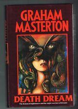 Death Dream by Graham Masterton ( 1989 british Hardcover 1st Edition)