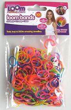 Amicizia Loom bande RICARICA - 300 elastici + 12 Clip-Pearl Shimmer-NUOVO
