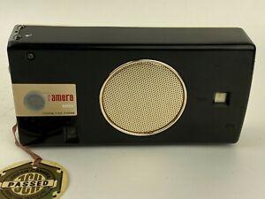 KOWA Ramera Black Bakelite Vintage Camera built-in Radio (KTC-62) Collectible
