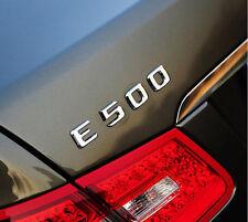 E678 E500 Emblem Badge auto aufkleber 3D Schriftzug Plakette car Sticker Neu