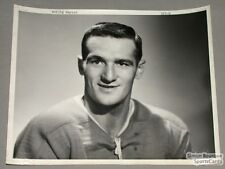 Original Early 50's Marcel Bonin Mtl Canadiens photo