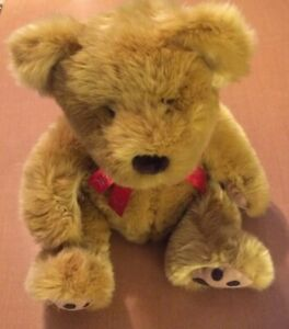 "Russ Big Brown Bear Named Cubbs 18"""