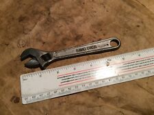 Vintage King Dick Adjustable Spanner - military arrow