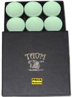 Taom Cue Chalk - Presentation Box of 9 (Heavily Discounted Price)