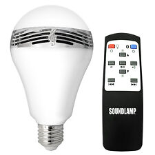 SOUNDLAMP Dimmable LED Light Bulb with Bluetooth Speaker (BML-F01)